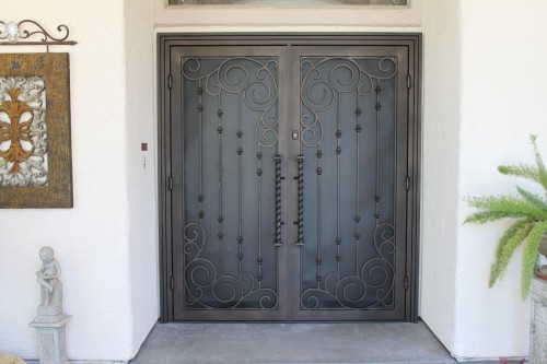 ... Southwest Iron Works | Wrought Iron Doors | Security Screens in Tucson & Southwest Iron Works premium Security Screens Tucson pezcame.com