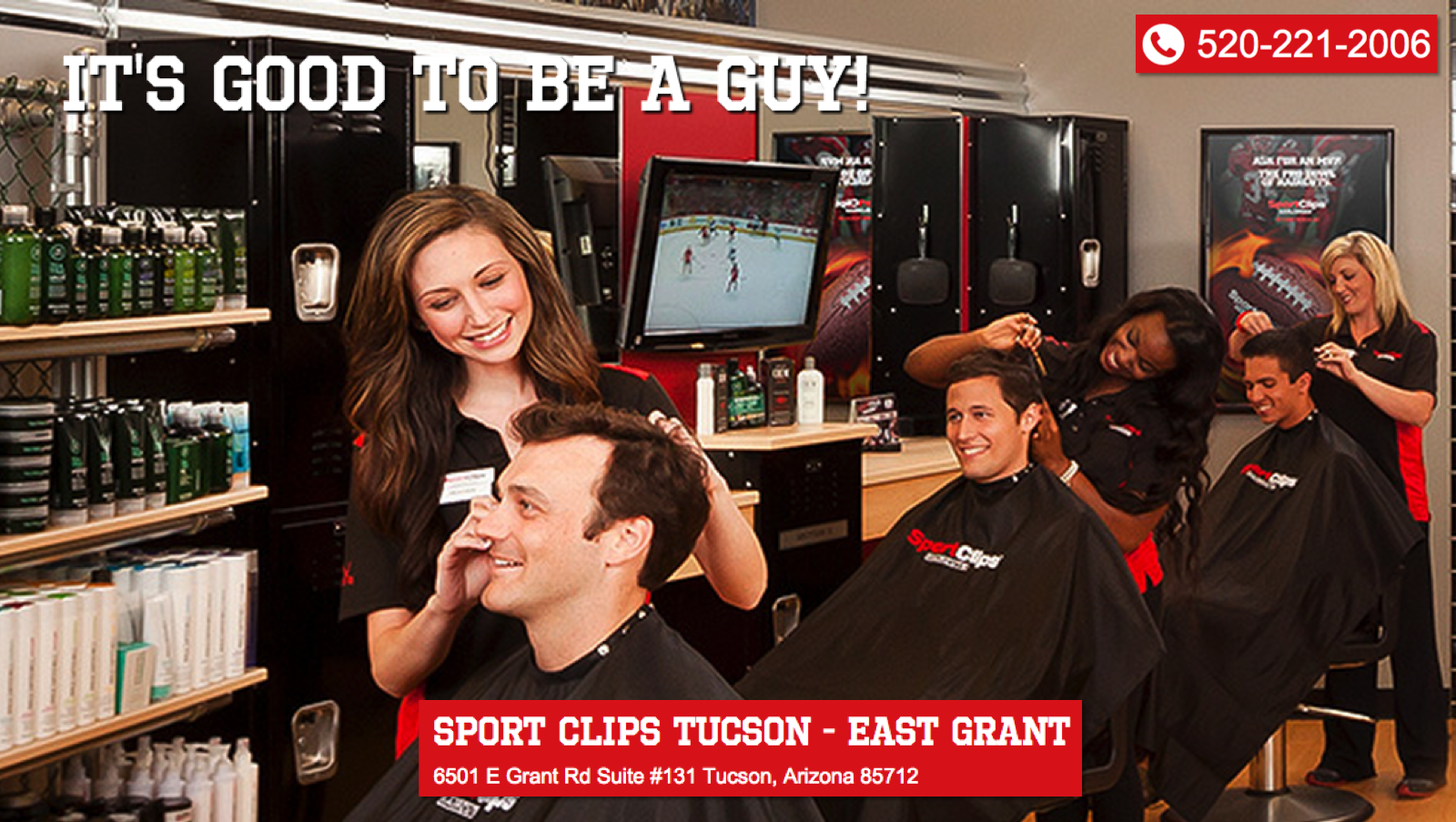 Sport Clips Tucson East Grant Best Mens Haircuts In Tucson